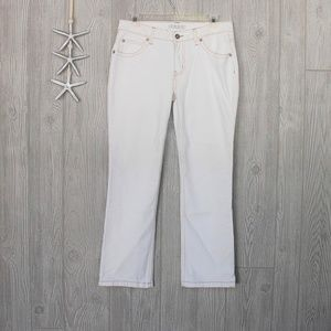 CAbi Jeans White Rodeo Days Stretch Style 859-L  6
